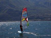 In giro con il windsurf