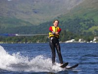 The water skiing courses