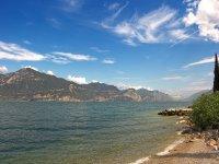 The shores of Lake Garda