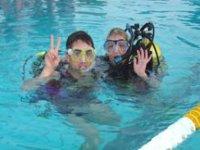 Corso di immersione con bombole