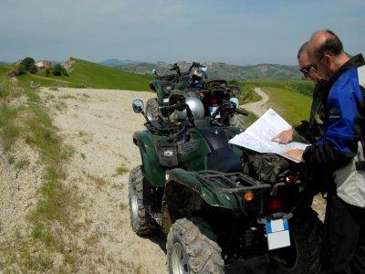 Escursione in quad nell'entroterra Romagnolo