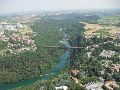 Volo in elicottero Bergamo di 60 min in un biposto