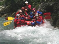 On the bubbling river!