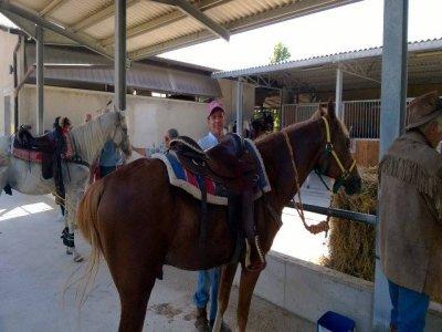 Giro del Peschio a cavallo, San Giuliano del Sanni