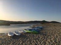 La nostra flotta di kayak