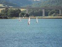 Prova Windsurf Sul Lago