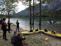 Una splendida giornata sul Lago di Cavedine