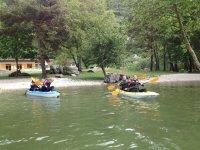 Kayak doppi a Cavedine