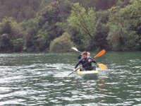 Venite a scoprire le bellezze del Lago di Cavedine in kayak