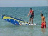 Divertirsi con il windsurf