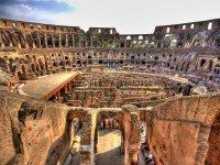 L'interno del Colosseo