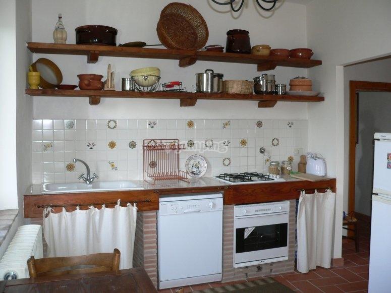 Cucina della tenuta