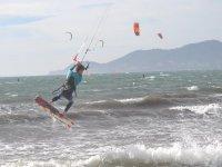 Vento e onde: perfetto per il kitesurf!