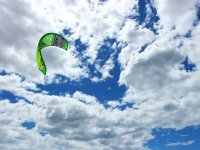L'aquilone in cielo