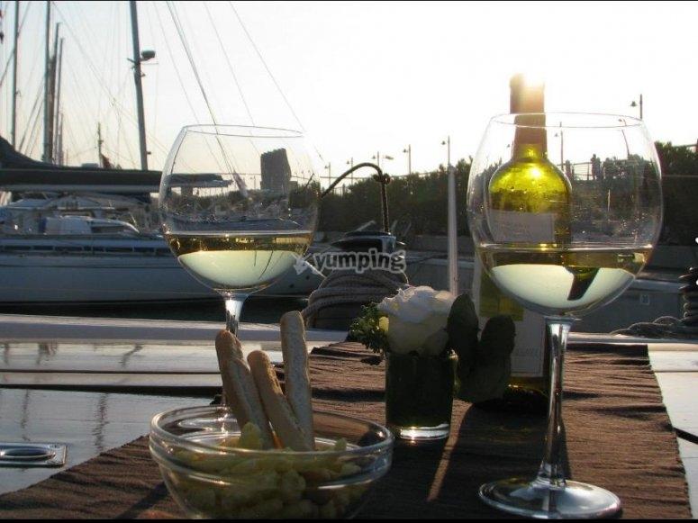 aperitivo a bordo