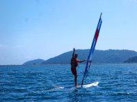 Un saluto dal windsurf