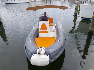 Boat rental without license Marina Rimini 4 hours