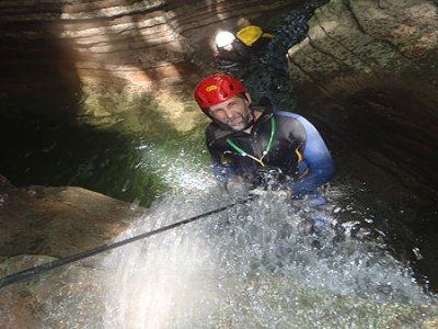 Discesa canyoning Alpi trentine