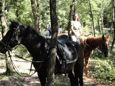 San Valentino in agriturismo con escurs. equestre