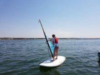 Sul windsurf a Ostia