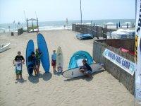 Junior surf camp
