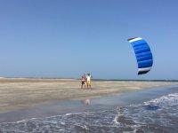 Praticando con il vento