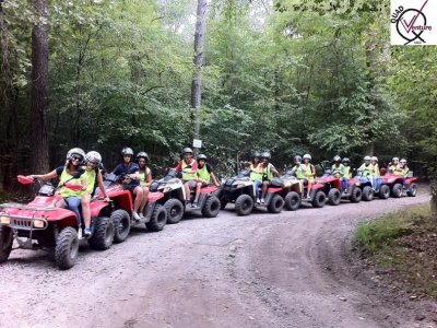 Paintball and quad Ticino River 4 hours