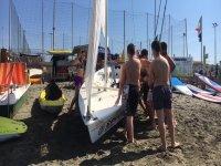 Lezioni in spiaggia