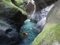 Canyoning in the Dora Baltea