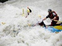 Rafting in La Thuile