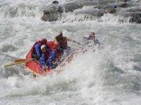 Rafting on the Dora
