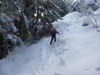 Esempio di sci mountaineering