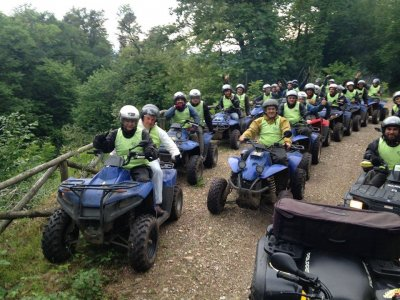 Quad excursion for couples Sesto Calende 3 hours