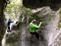 Percorso tra le rocce