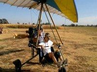 Il deltaplano a motore