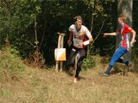 Orienteering con gara di corsa