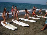 Lezioni surf bambini
