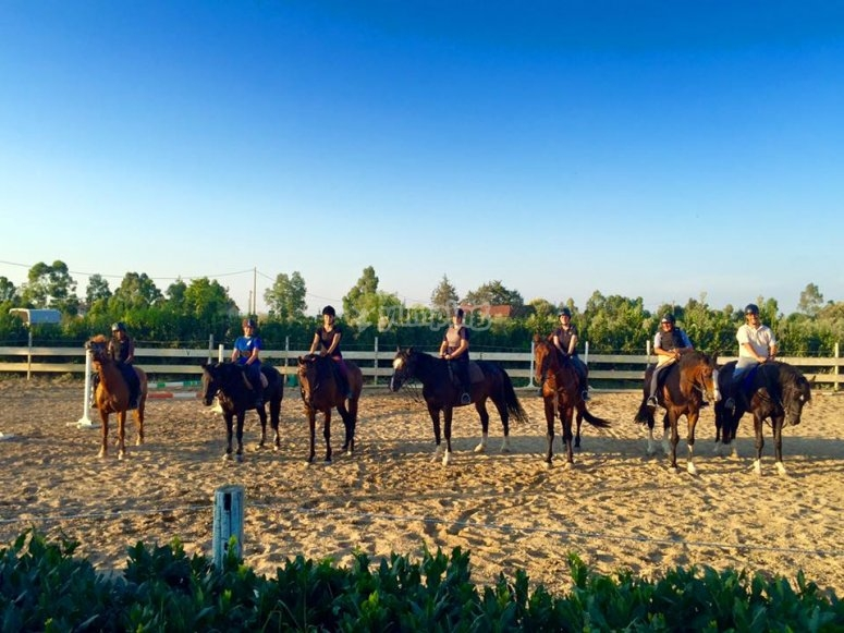 escursioni con i nostri cavalli