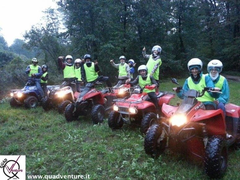 tutti in quad in Lombardia