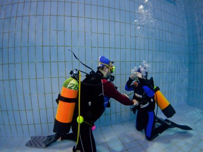 Open Water Diver + Advanced Open Water Padi course