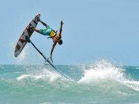 Evoluzioni con il windsurf