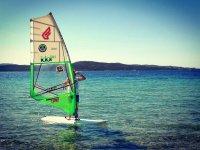 Con il windsurf a Porto Pollo