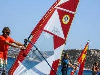 Corsi di windsurf per bambini a Porto Pollo