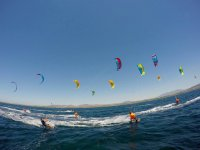 A mare di kitesurf in Sardegna