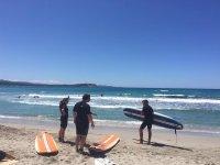 Corsi di surf a Porto Pollo