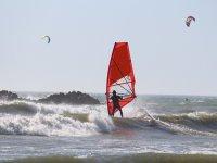 Windsurfing and kitesurfing in Sardegna