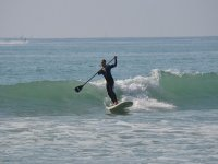 Sfida I waved it with the paddle board