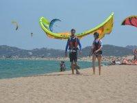 Sulla spiaggia di Porto Pollo