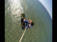 Acrobazie con il kite