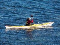 Kayak nel mare
